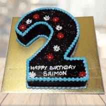 2 Year Old Birthday Cake