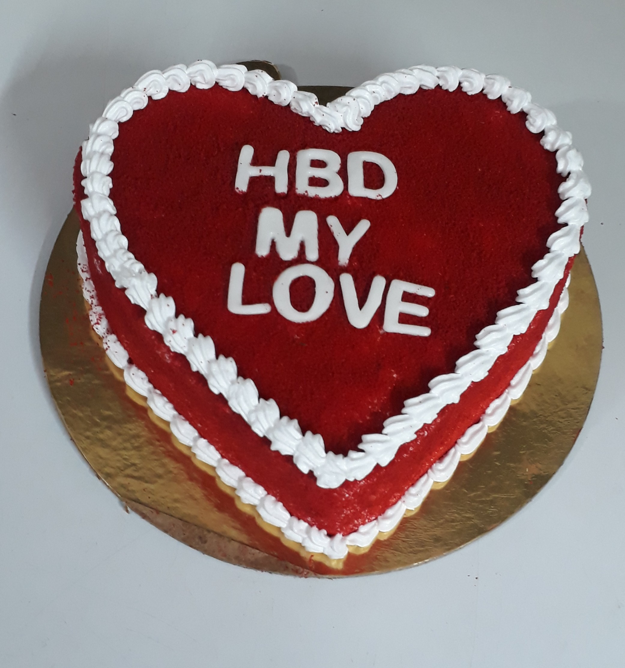 Happy Wedding Anniversary Cake Heart Shaped Mrcake