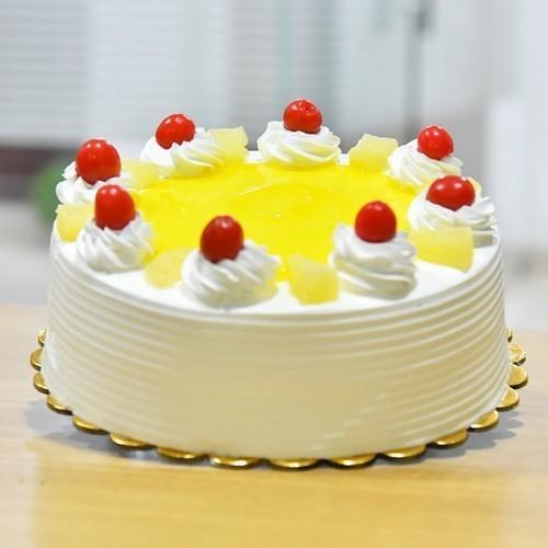 Surprising Pineapple Birthday Cake Mrcake Personalised Birthday Cards Akebfashionlily Jamesorg
