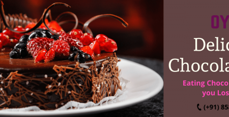 Eating a chocolate cake helps to reduce weight