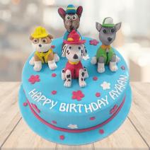 Paw Theme Cake