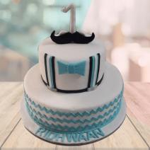 1st baby birthday cake designs