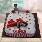 funny bridal shower cakes