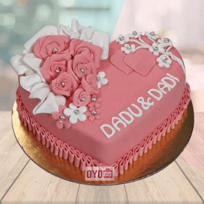 mom dad anniversary cake