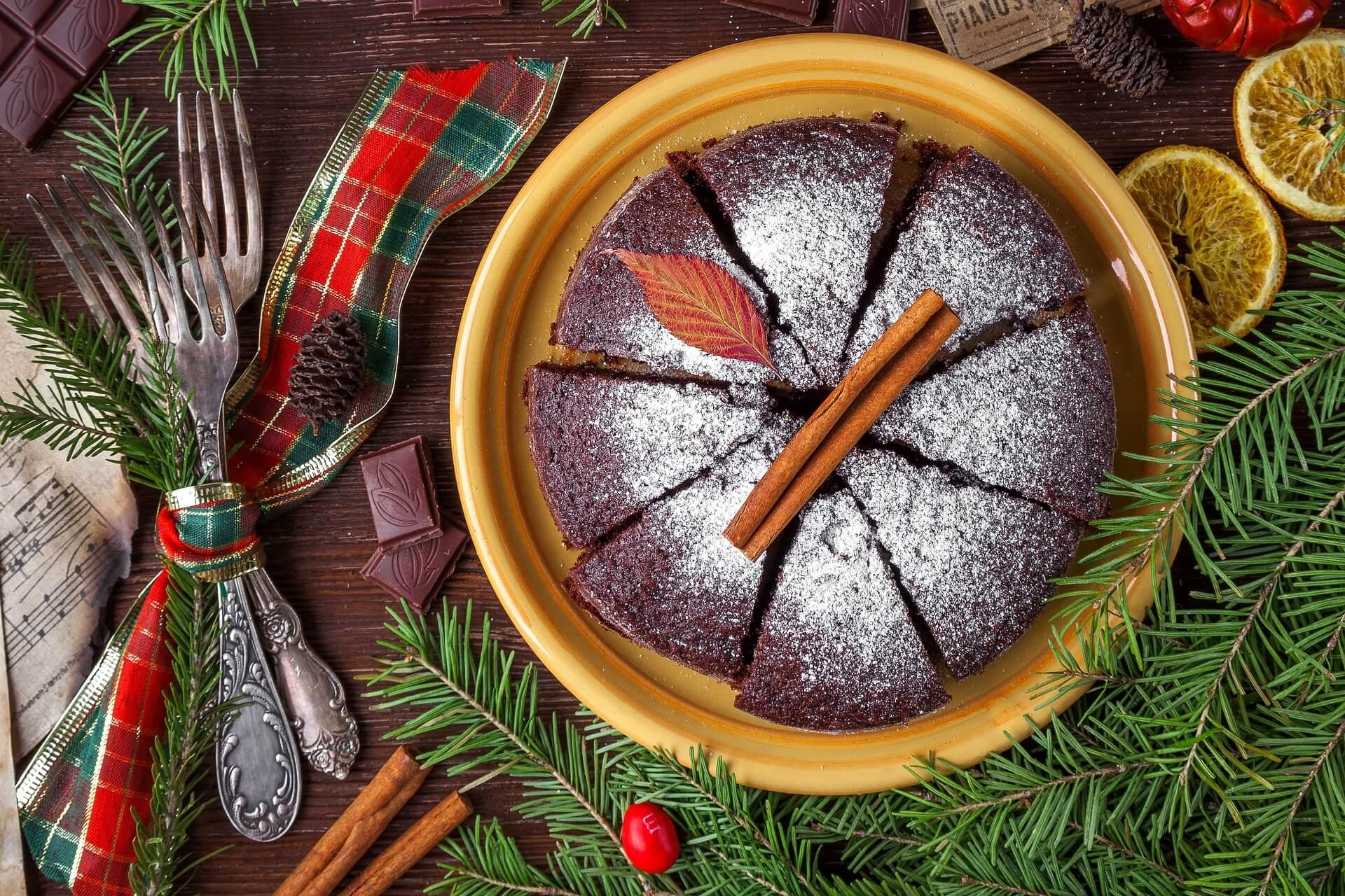 Merry Christmas special pie cake
