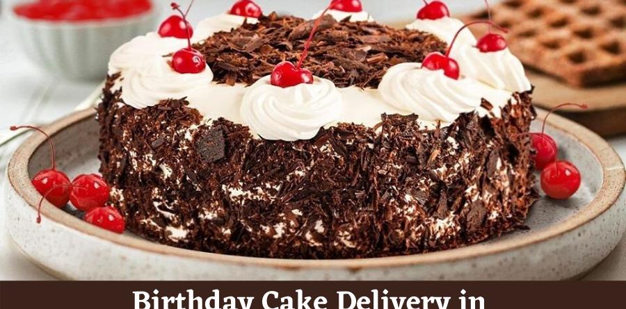 Order birthday cake online in lockdown