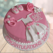 New Baby Born Cake