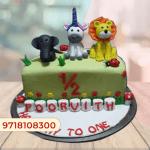 6 months birthday Cake online