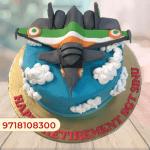 Fighter Jet Cake Topper