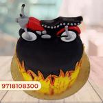 Rider Cake Design