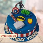 Avengers Cake design