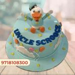 Donald Duck Cake design