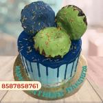 Donut cake Birthday