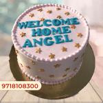 Twinkle Twinkle Little Star Cake Girl